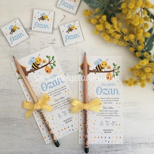 Arı Temalı Tohum Kalemi