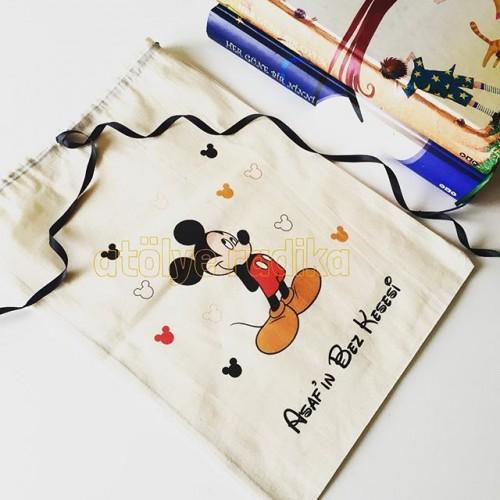 Mickey Mouse Eşya Kesesi