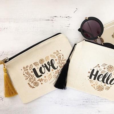 Love / Hello Cüzdan