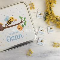 Arı Tasarımlı Çikolata Kutusu